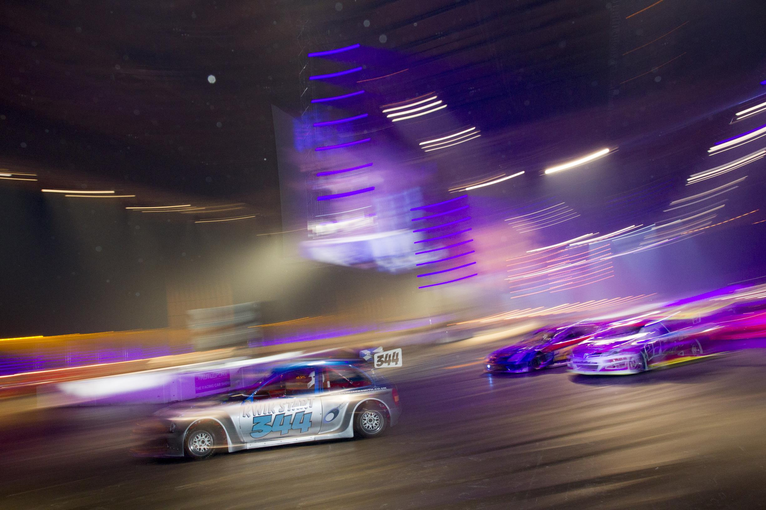 The London Motor Show » live drive arena - The London Motor Show