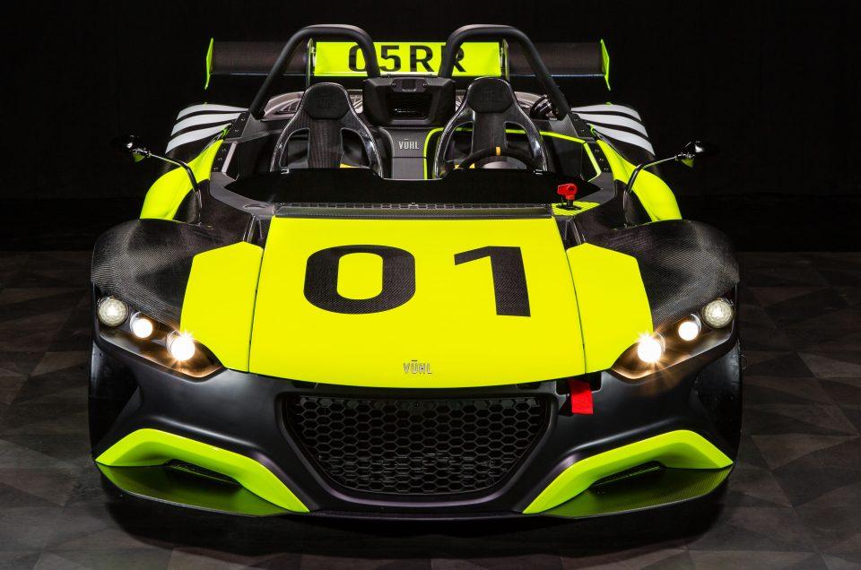 Vuhl unveils faster, lighter 05RR track-focused road car