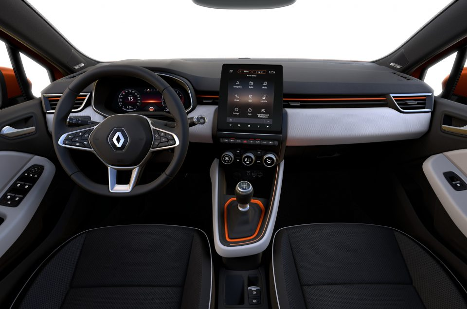 Renault gives first glimpse of all-new Clio interior
