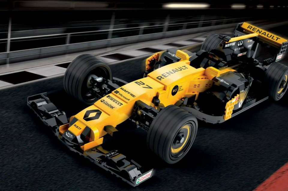 Full-scale Lego Renault F1 car to be sold at auction