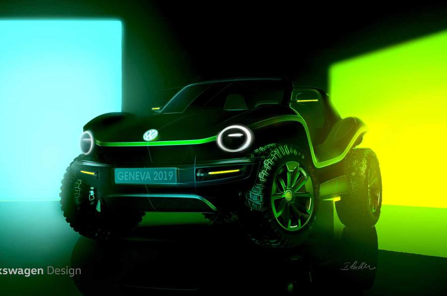 Volkswagen reveals new dune buggy… and its Electric!
