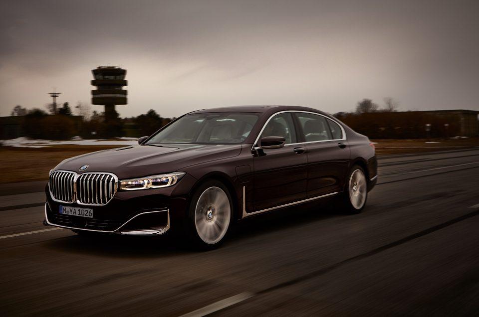 BMW reveals new 7 Series plug-in hybrid model