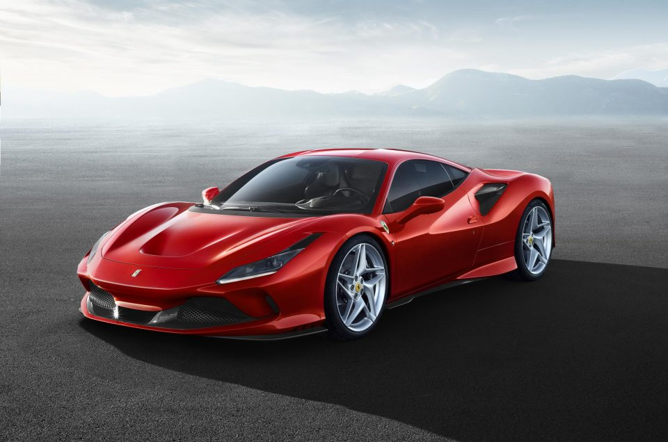 Record Breaking new mid engined Ferrari F8 Tributo revealed