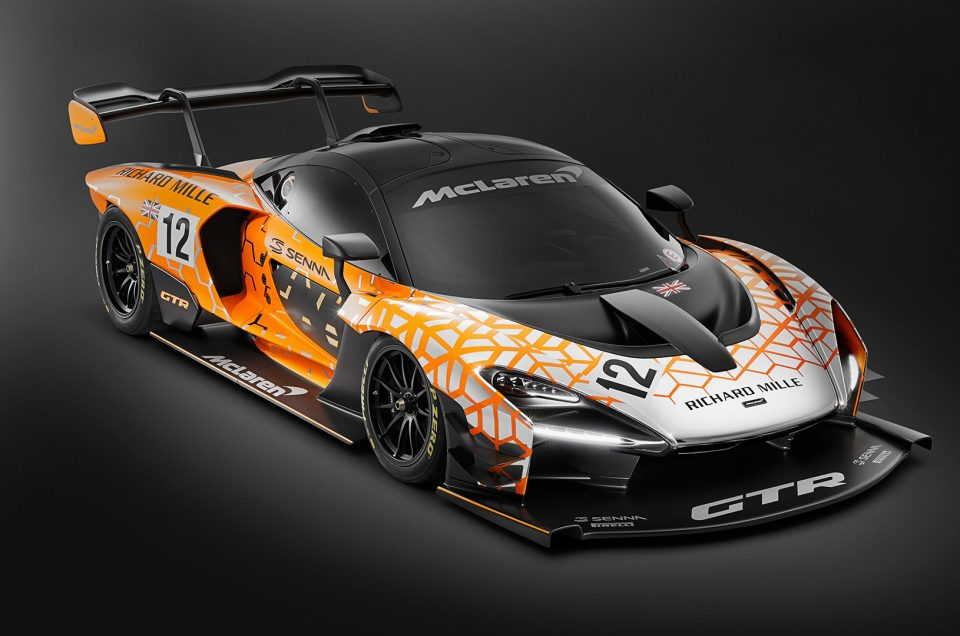 McLaren launch Senna GTR. Because the normal Senna isn't hard core enough!