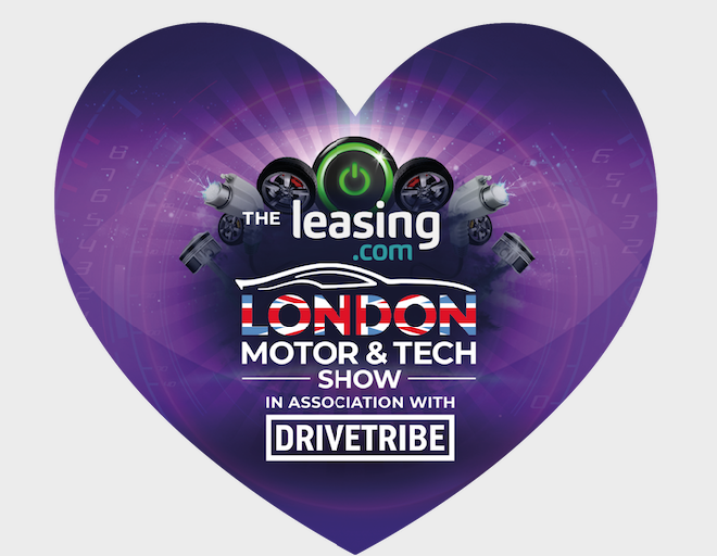 London Motor Show Valentine's ticket offer to celebrate the lovers saloon.