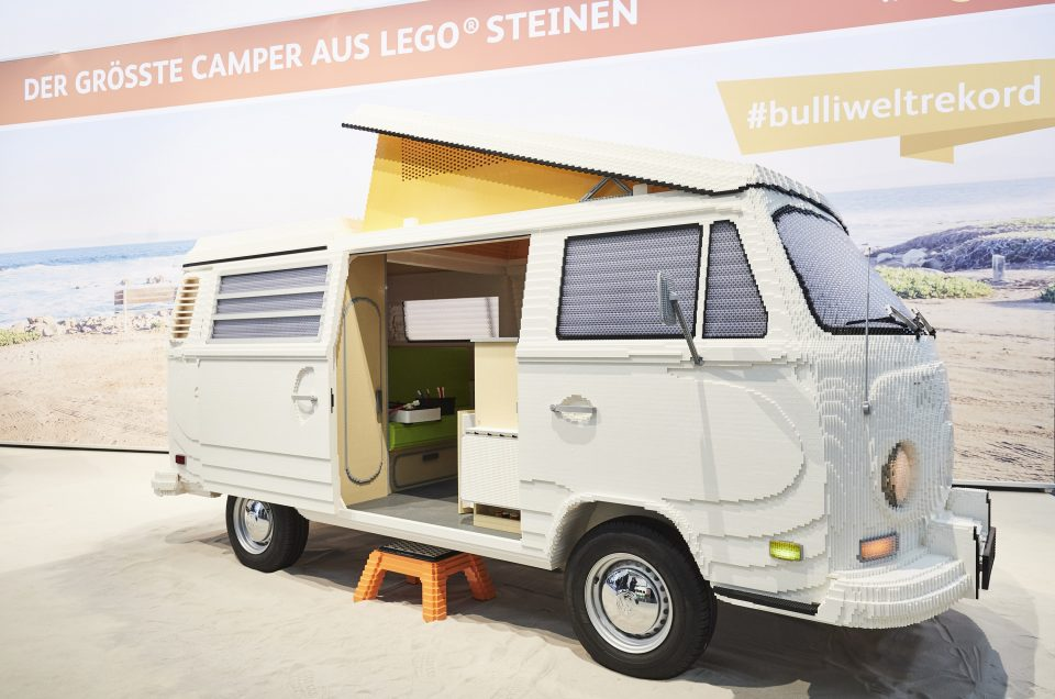 Now Lego have built a full size VW Camper. But can we do better...