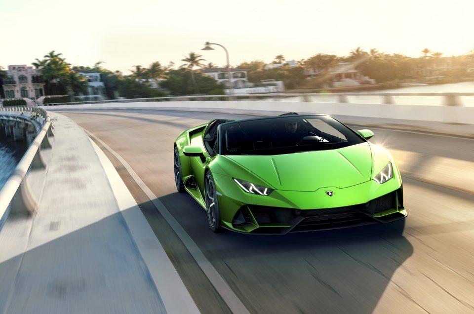 Lamborghini lifts the lid on Huracan EVO Spyder