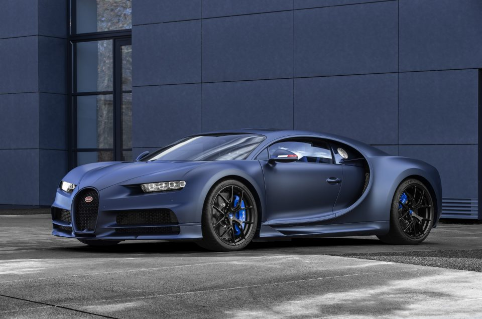 Bugatti reveals limited edition Chiron sport, in case you needed even more exclusivity.