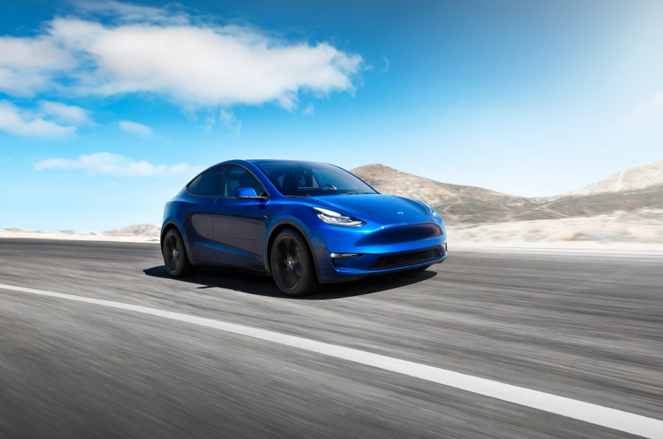 Tesla unveils new Model Y electric crossover
