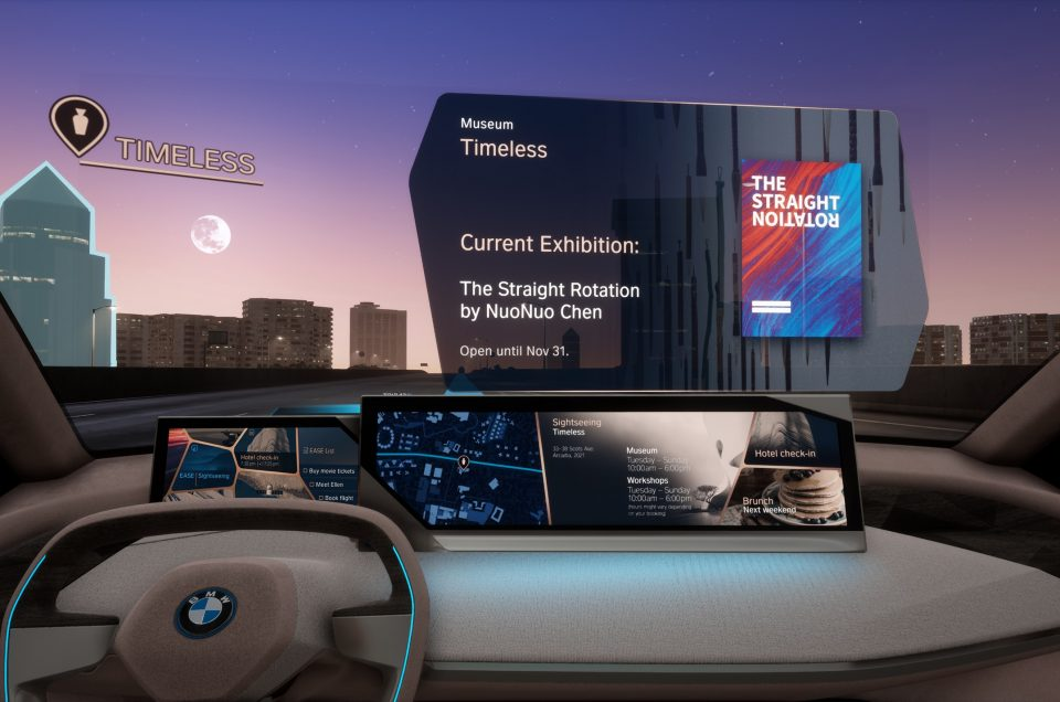 New BMW tech could help you choose where to go for dinner