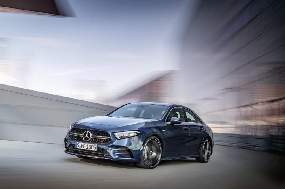 Mercedes-AMG unveil new A 35 saloon