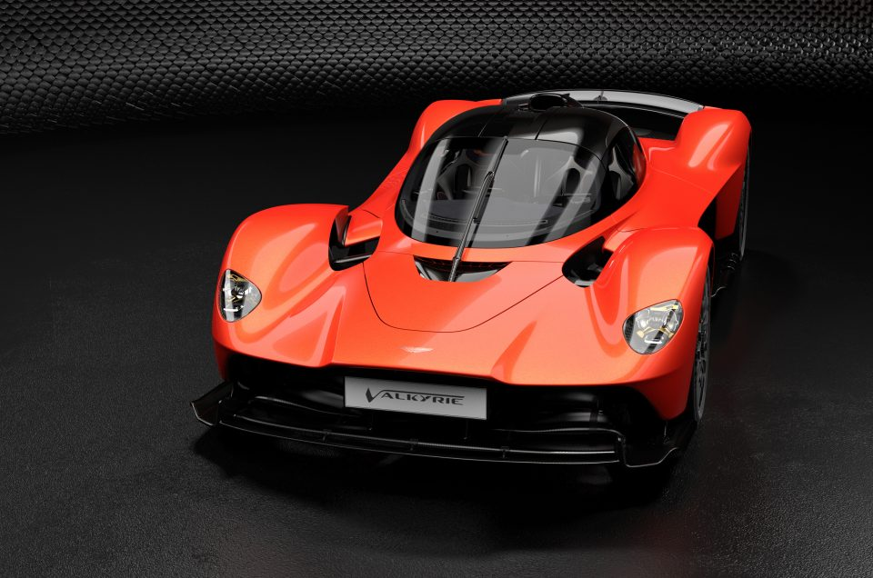 Feel the force! Aston Martin Valkyrie's mega power revealed