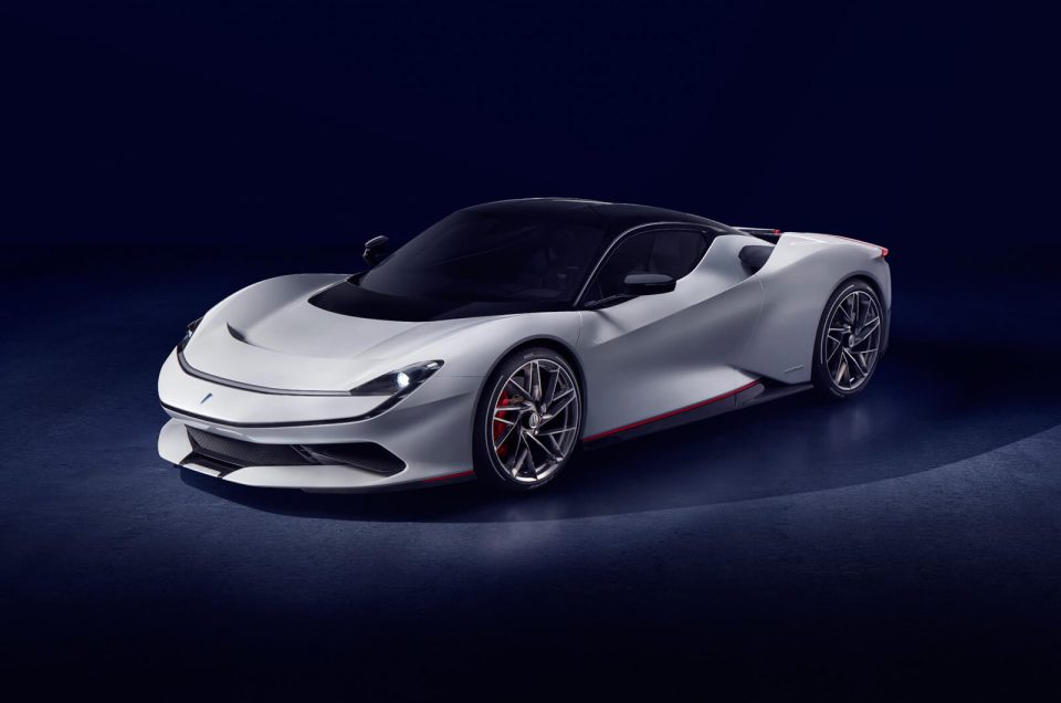 Pininfarina Battista unveiled as the world's most powerful road-legal car