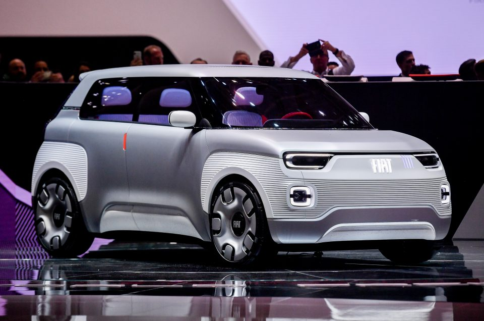 Fiat Centoventi concept is Italian brand's surprise electric city car