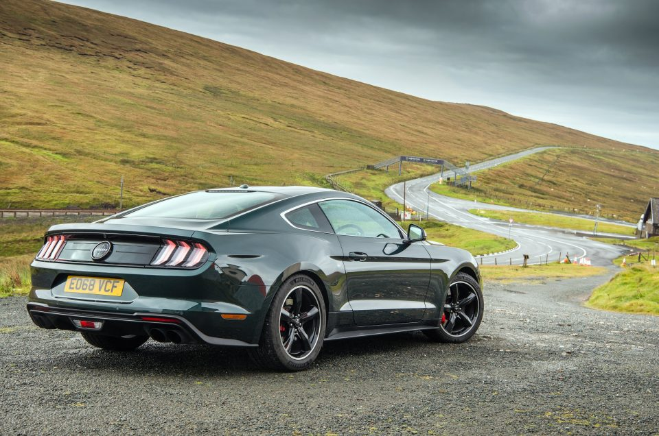 UK Drive: Ford's Mustang Bullitt brings a slice of movie magic to the muscle car market