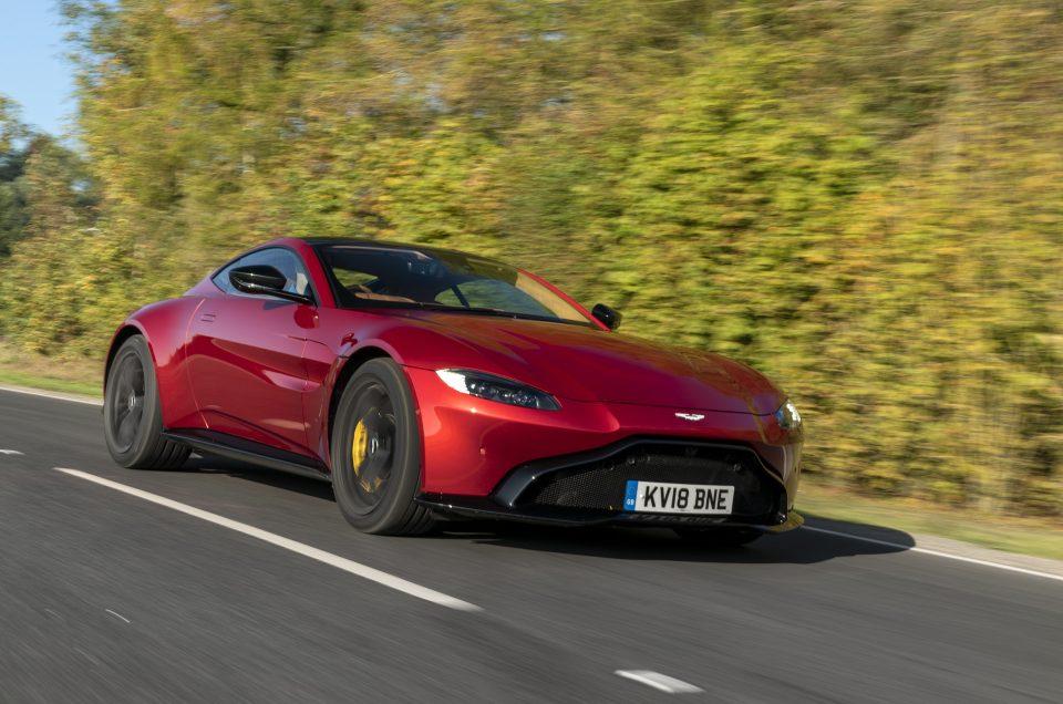 UK Drive: Aston Martin's Vantage ticks all of the performance car boxes