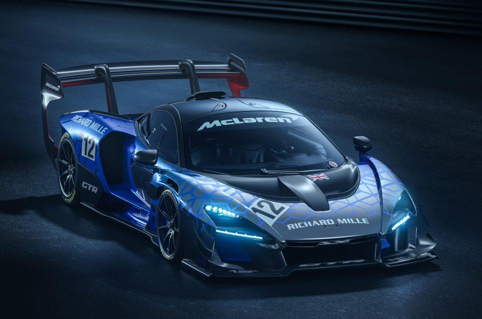 McLaren releases track-ready Senna GTR
