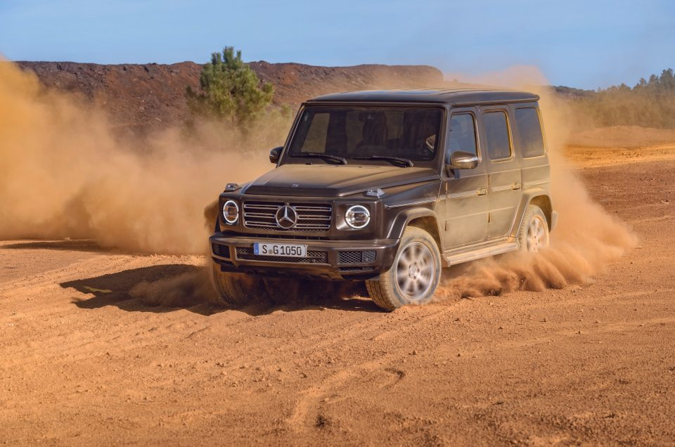Five stars for Mercedes G-Class in latest round of Euro NCAP tests
