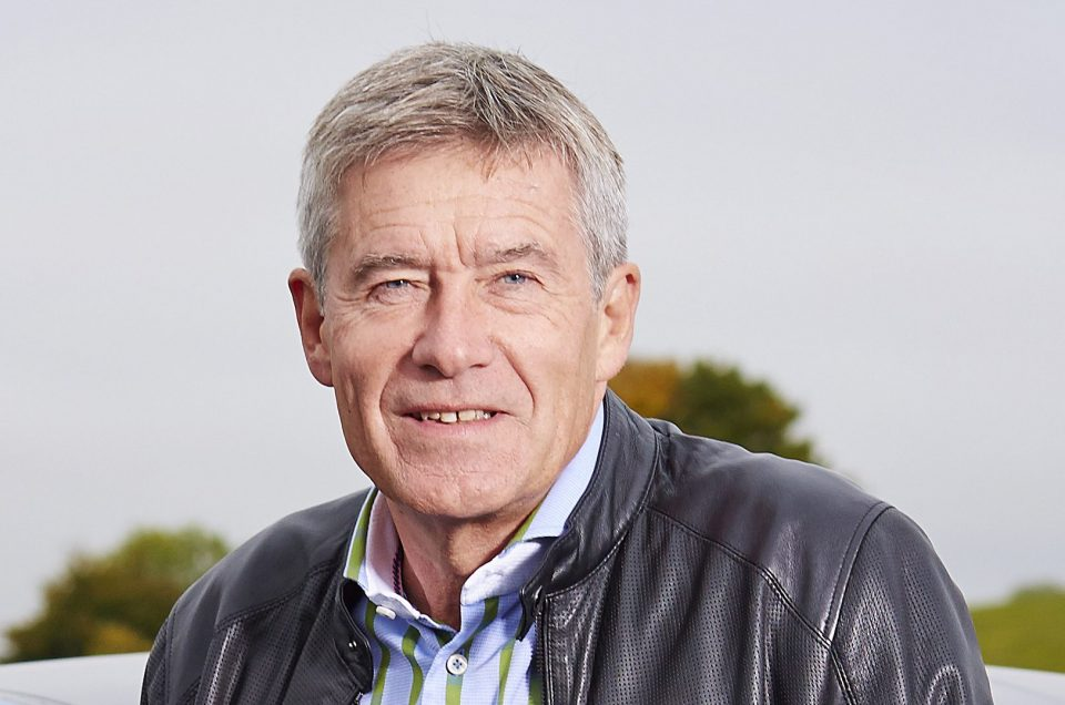 Motorsport ace and former Top Gear host Tiff Needell returns to Leasing.com London Motor & Tech Show
