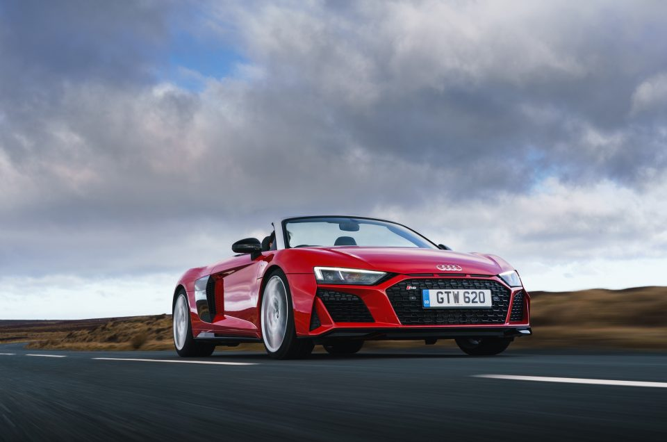 First Drive: Updates ensure Audi's R8 Spyder V10 Performance retains its edge