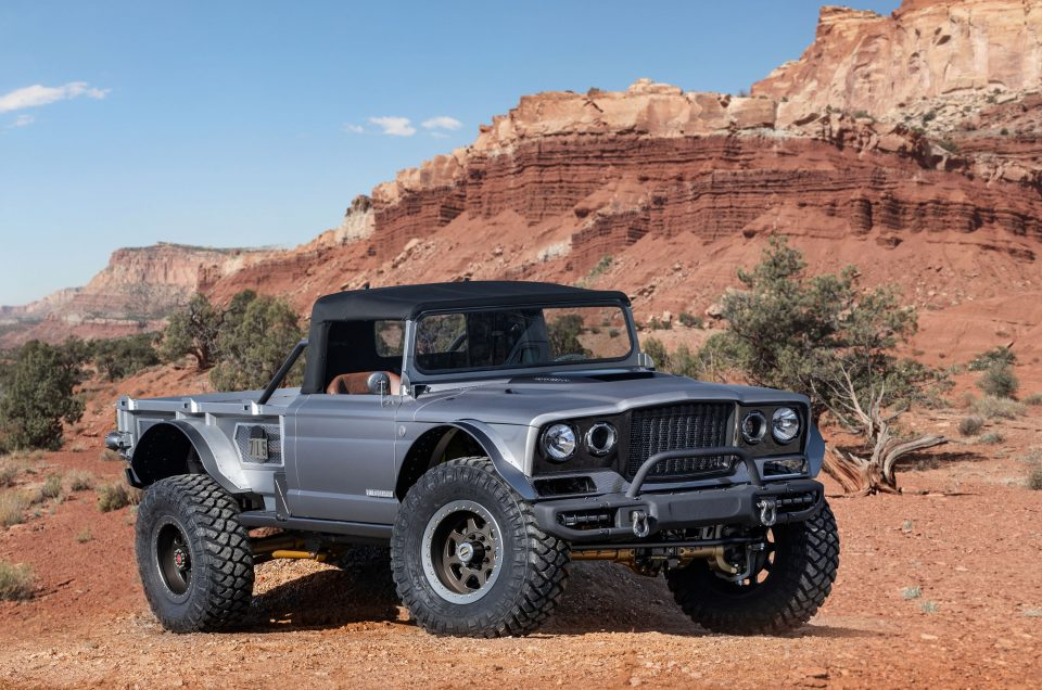 Jeep showcases six concepts ahead of Moab Easter Safari