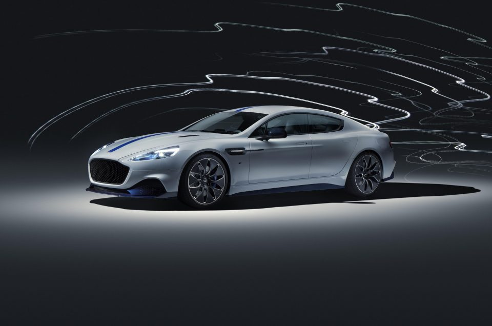 All-electric Aston Martin Rapide E uncovered
