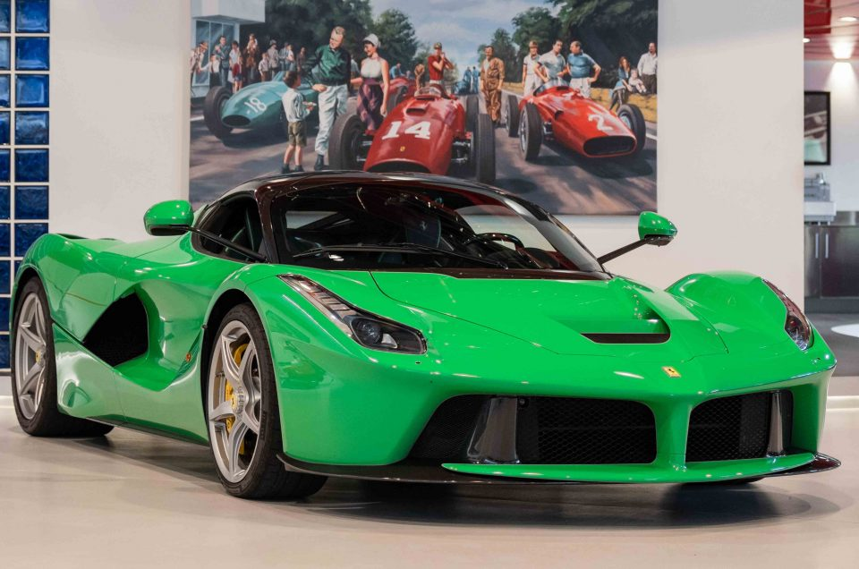 Jay Kay-owned LaFerrari up for sale
