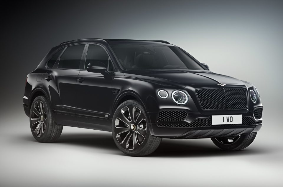 Bentley unveils Design Series special edition for Bentayga
