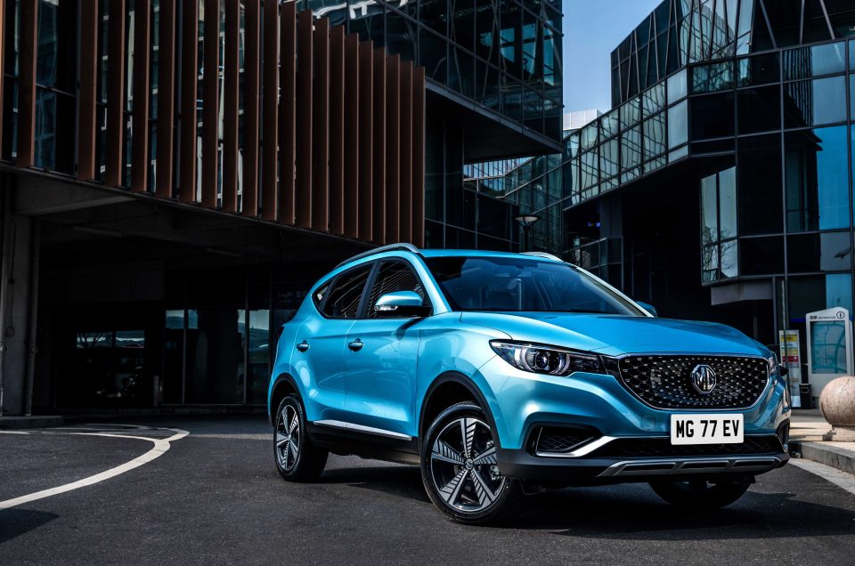 MG ZS EV makes European debut at the Leasing.com London Motor & Tech Show