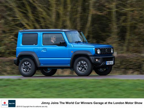 Suzuki Jimny shines at The Leasing.com London motor & Tech Show