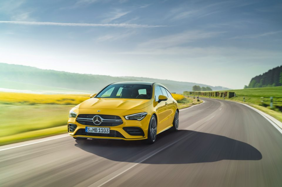 Mercedes-AMG expands line-up with CLA 35 Shooting Brake