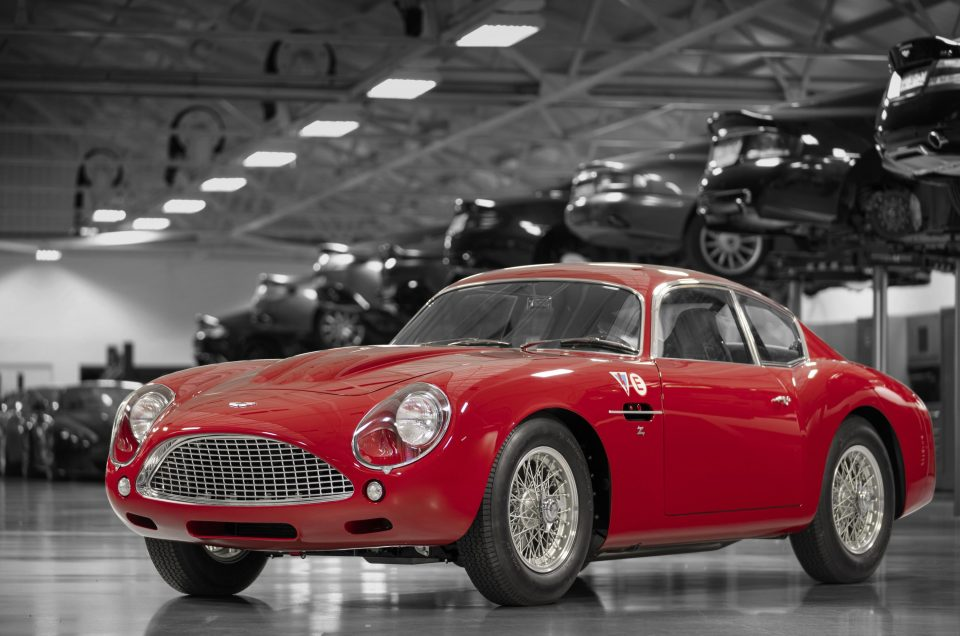The first Aston Martin DB4 Zagato continuation model has been unveiled