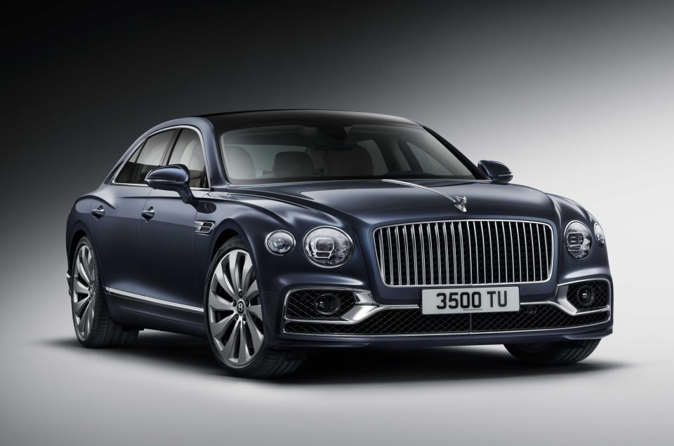 Bentley lifts the lid on luxurious new Flying Spur